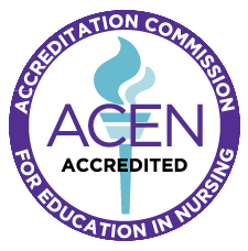 The Registered Nursing program is accredited by ACEN, the Accreditation Commission for Education is Nursing.