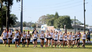 The SFSC Cross Country Invitational began Saturday morning at Panther Field, Highlands Campus.