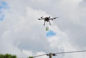 UAV Aloft with Payload