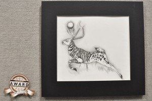 "A pencil drawing ""Kail"" by Missy Simpson's won Best in Show."