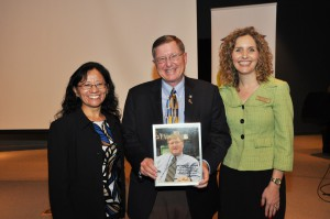 From left: Irene Castanon, Wally Cox, and Jamie Bateman.