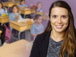 Teacher with Classroom