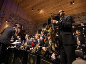 The Flying Horse Big Band.