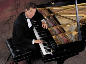 David Osborne at his piano.