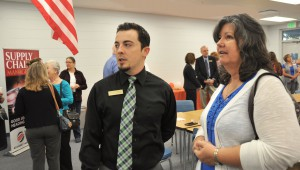 Nelson Torres and Marie Wislon talk