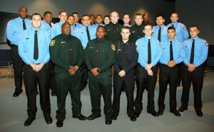 Group photos of all graduates of the Basic Law Enforcement Class 252