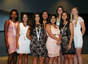 Eight dental assisting graduates