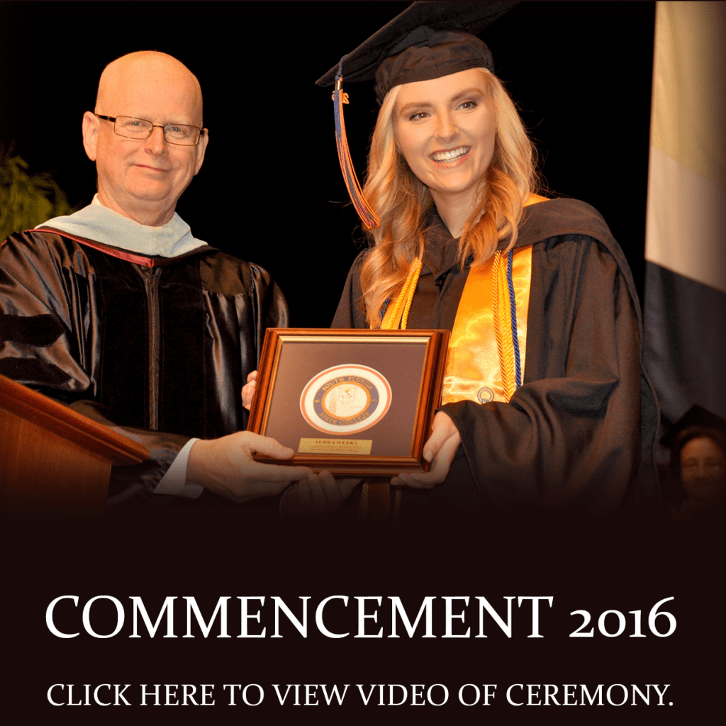 Fall Commencement 2016. Click here to view video of ceremony.