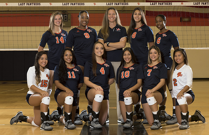 The 2018 Lady Panthers Volleyball Team