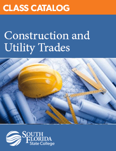 Class Catalog: Construction and Utility Trades