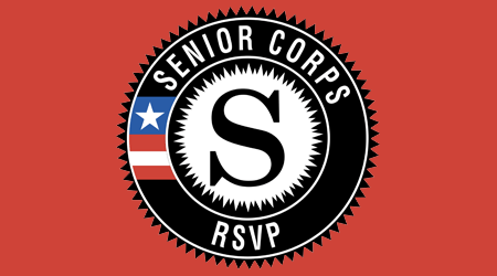 Links goes to Senior Corps-RSVP