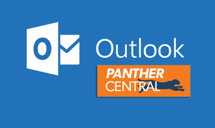 Visit Office Outlook in Panther Central