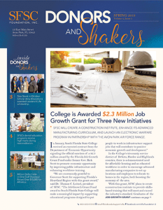 View the Spring 2019 newsletter in PDF.