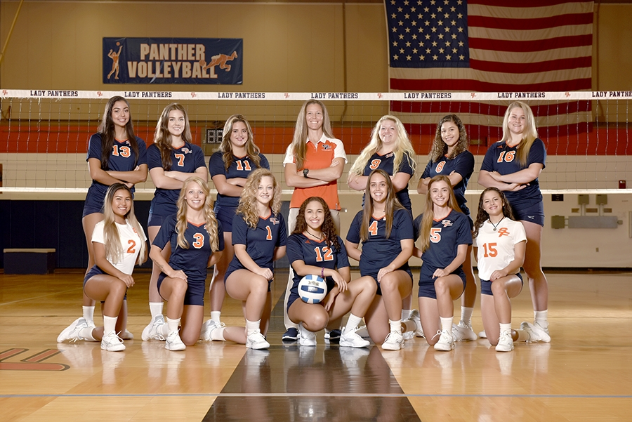 2019 Lady Panthers Volleyball Team