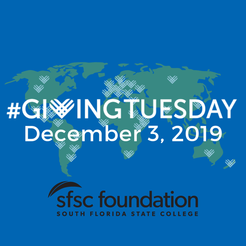 Support the SFSC Foundation on #GivingTuesday, Dec. 3, 2019.