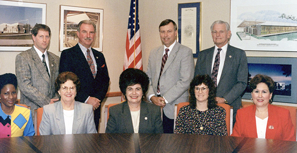 The Board of Trustees from the 1990s