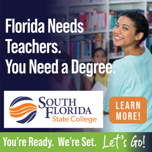 Florida Needs Teachers. You Need a Degree.