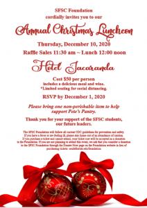 Foundation Christmas Luncheon Invitation Image