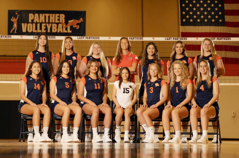 2021 Lady Panthers Volleyball Team
