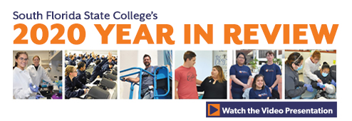 Watch South Florida State College's 2020 Year in Review video.