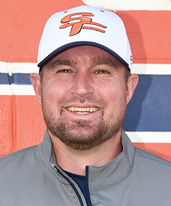 Assistant Coach Andy Polk
