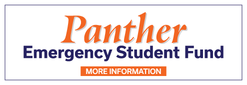Learn more about the Panther Student Emergency Aid Fund by click on this link.
