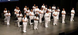 The Practical Nursing graduates