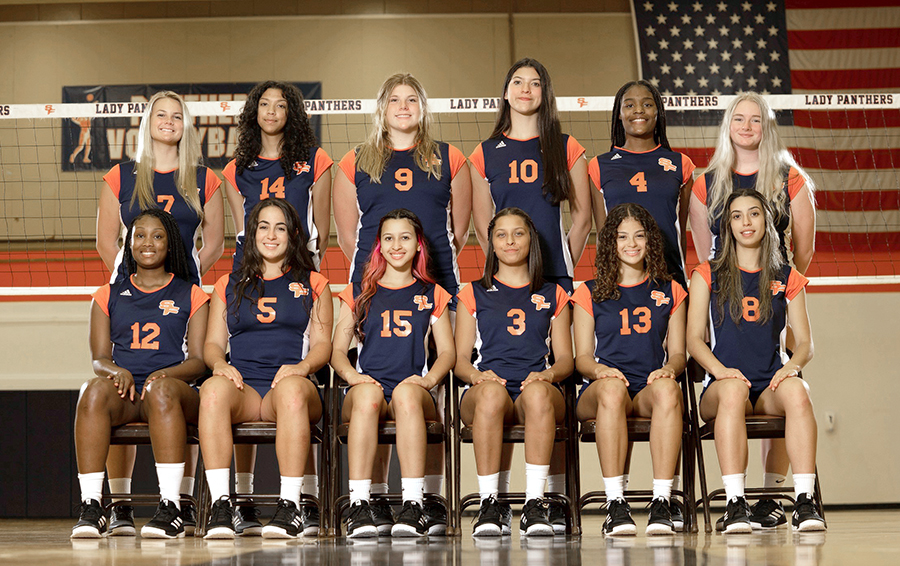 The 2021 Lady Panthers Volleyball Team
