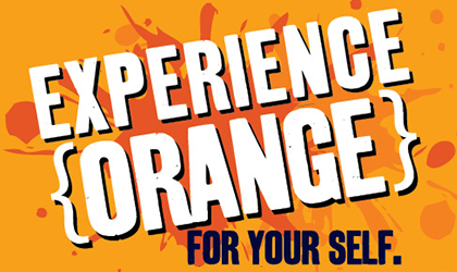 Experience Orange For Your Self