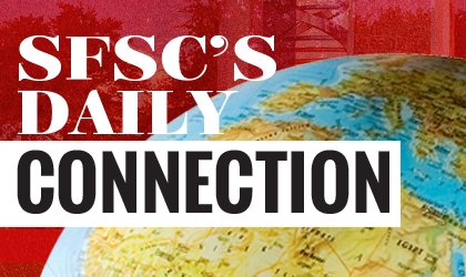 Click Here to be Redirected to SFSC's Daily Connection.