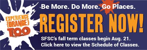 Fall 2015 Register Now