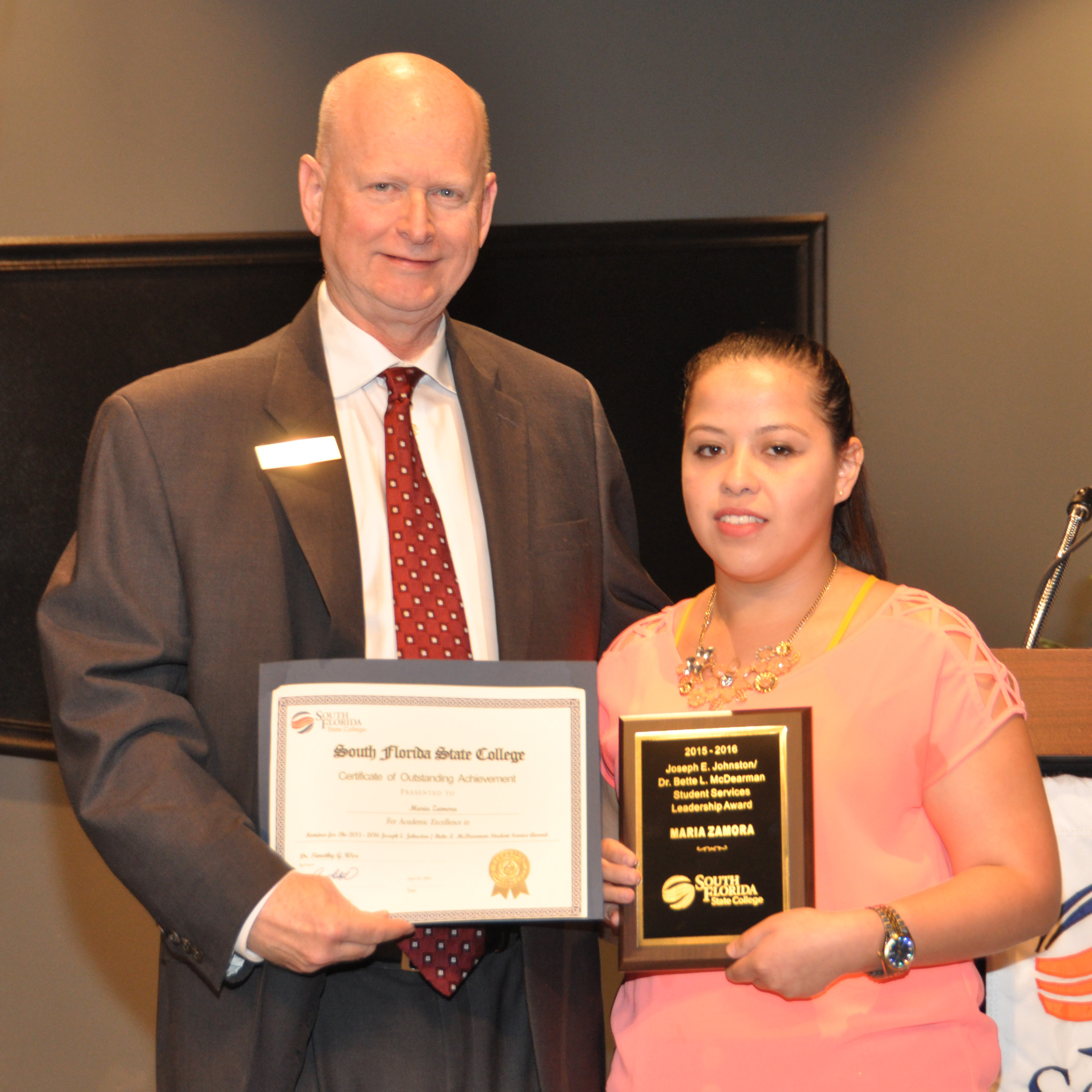 SFSC Students and Instructors Recognized on Awards Day - South ...