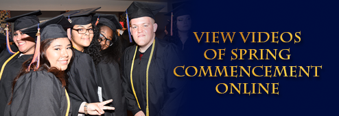 Relive Commencement. View Videos Online.