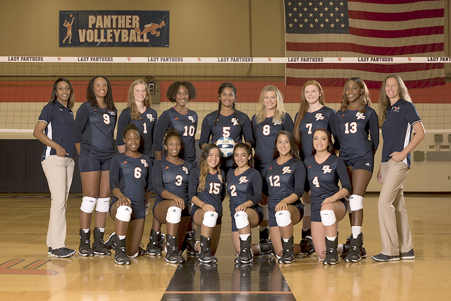 Lady Panthers Volleyball Team 2018
