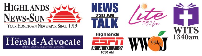 Million Dollar Golf Shootout Media Sponsors: Highlands News-Sun, The Herald-Advocate, News 7:30 AM Talk Radio, Highlands ESPN Radio 1050AM, Lite 105.7 FM, WWOJ 99.1 FM, WITS 1340 AM
