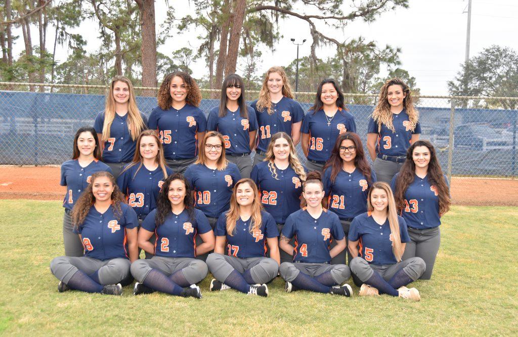 2018 Panther Softball Team