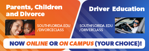 Parents, Children and Divorce. Driver Education. Now online or on campus (your choice)!