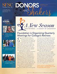 SFSC Foundation Newsletter for Spring 2018 PDF