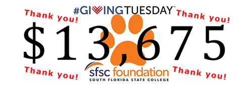 Giving Tuesday. $13,675 raised. Thank you!
