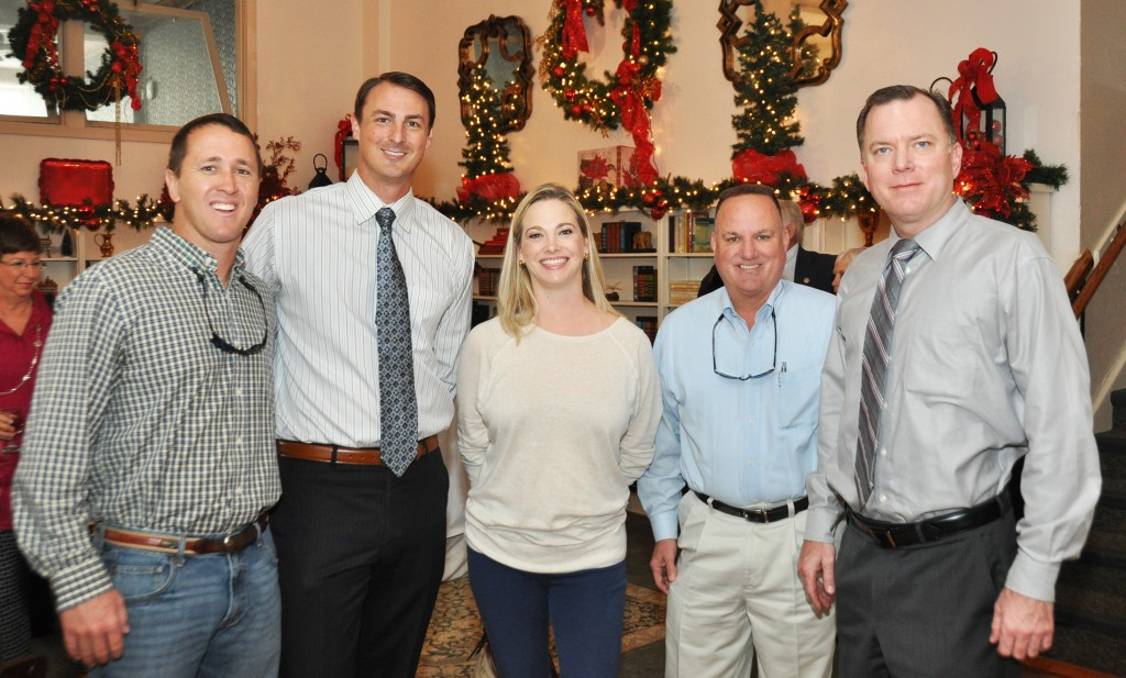 Guests at the SFSC Foundation Christmas luncheon.